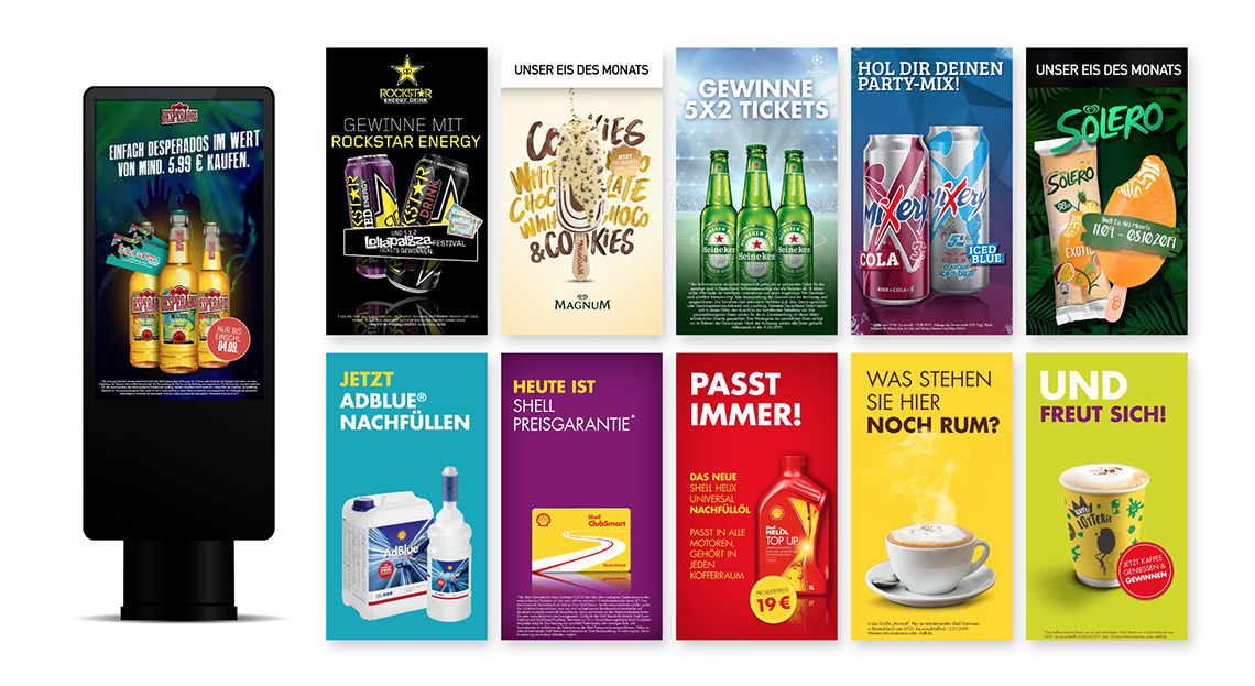 Shell: Digital Signage