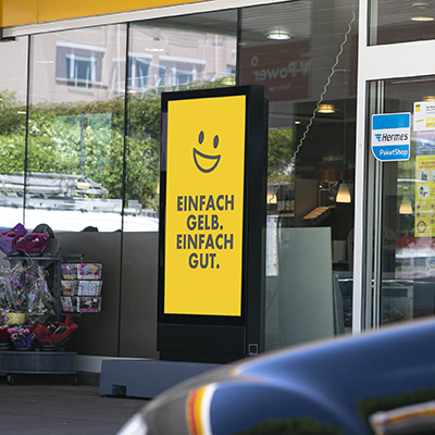 Shell: Digital Signage umsetzung