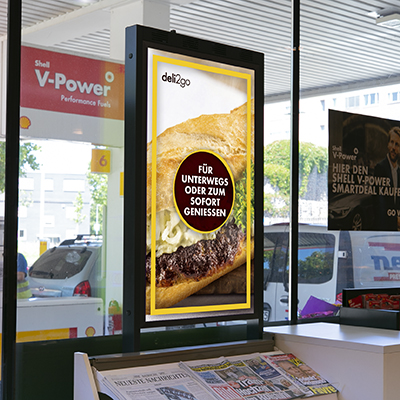 Shell: Digital Signage ergebnis