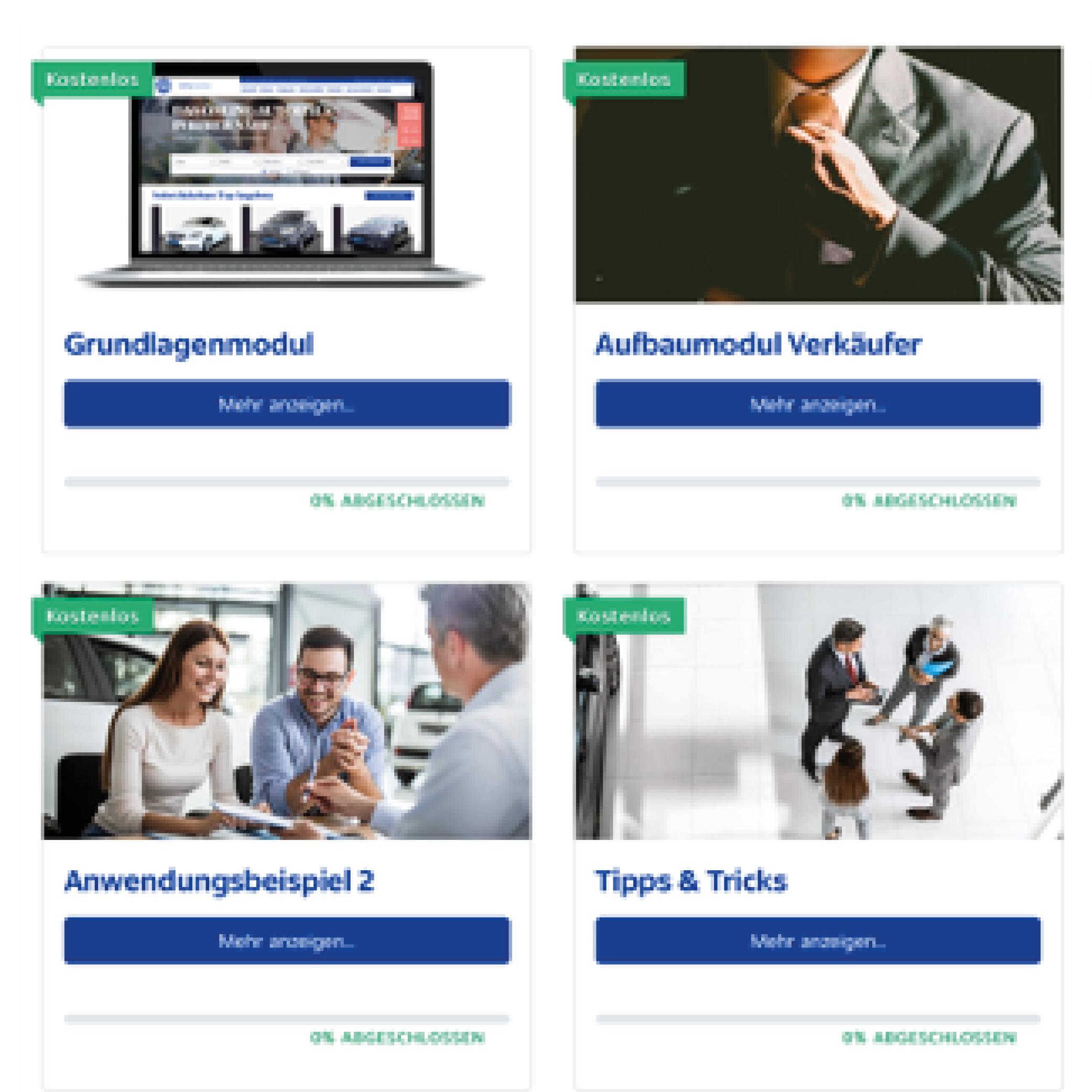 Emil Frey Deutschland: E-Learning-Plattform ergebnis