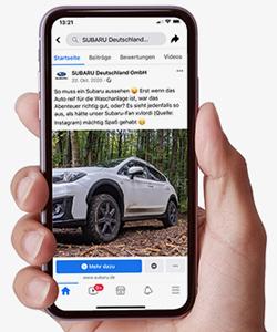 Subaru Deutschland: Social-Media-Marketing
