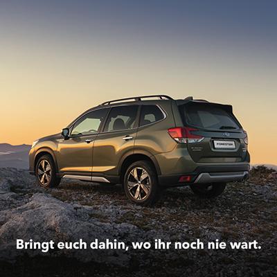 Subaru Deutschland: Strategie und Marken-Kampagne 2020 umsetzung