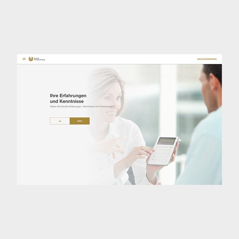 DVAG: Relaunch Berater Tool | 2020 aufgabe