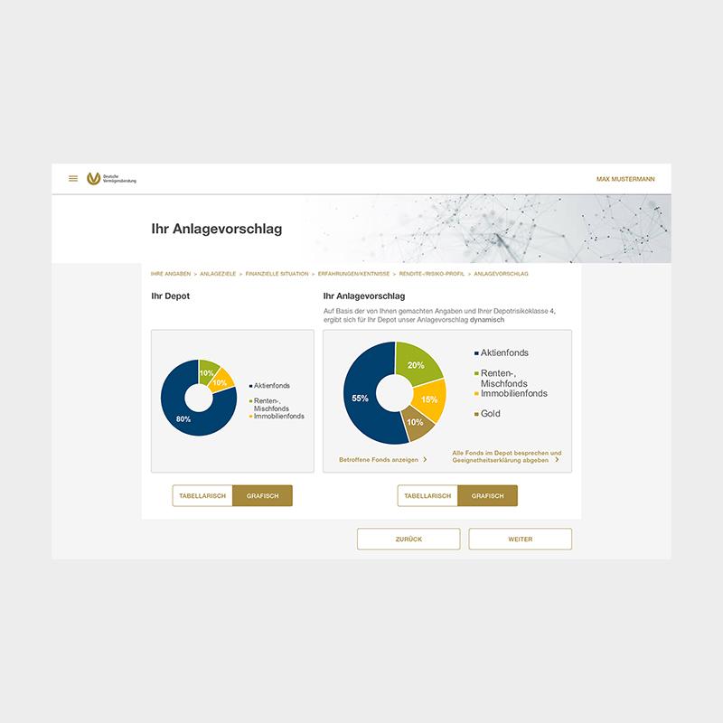 DVAG: Relaunch Berater Tool | 2020 umsetzung